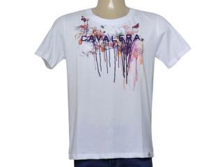 Camiseta Masculina Cavalera Clothing 01.01.9972 Branco - Tamanho Médio