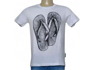 Camiseta Masculina Cavalera Clothing 01.20.0039 Branco - Tamanho Médio