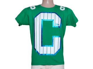 Camiseta Masculina Coca-cola Clothing 353204126 Verde Folha - Tamanho Médio