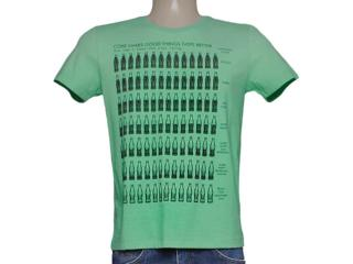 Camiseta Masculina Coca-cola Clothing 353204111 Verde - Tamanho Médio