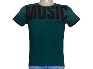 Camiseta Masculina Coca-cola Clothing 353203965 Verde - Tamanho Médio