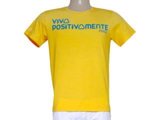 Camiseta Masculina Coca-cola Clothing 353203178 Amarelo - Tamanho Médio