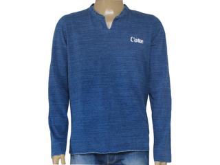 Camiseta Masculina Coca-cola Clothing 353204450 Azul - Tamanho Médio