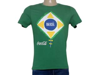 Camiseta Masculina Coca-cola Clothing 353203946 Verde - Tamanho Médio