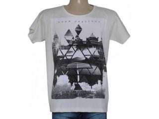 Camiseta Masculina Coca-cola Clothing 353204779 Off White - Tamanho Médio
