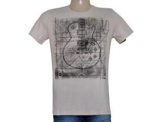 Camiseta Masculina Coca-cola Clothing 355200034 Bege - Tamanho Médio