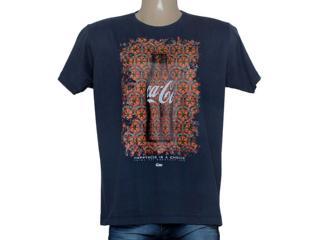 Camiseta Masculina Coca-cola Clothing 353204634 Marinho - Tamanho Médio