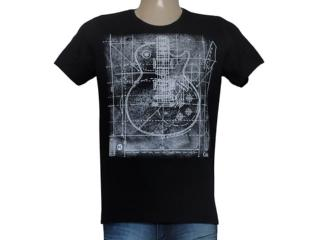 Camiseta Masculina Coca-cola Clothing 355200034 Preto - Tamanho Médio