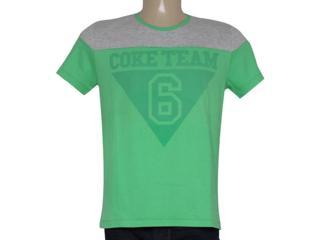 Camiseta Masculina Coca-cola Clothing 353204121 Verde - Tamanho Médio
