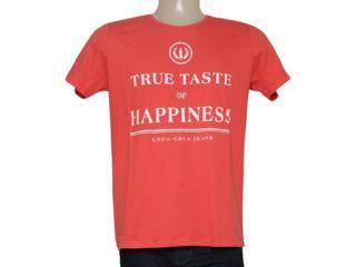 Camiseta Masculina Coca-cola Clothing 353204849 Vermelho - Tamanho Médio