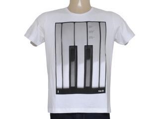 Camiseta Masculina Coca-cola Clothing 355200041 Branco - Tamanho Médio