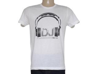 Camiseta Masculina Coca-cola Clothing 355200055 Off White - Tamanho Médio