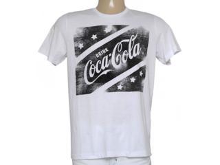 Camiseta Masculina Coca-cola Clothing 353204738 Branco - Tamanho Médio