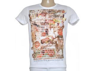 Camiseta Masculina Coca-cola Clothing 353204627 Off White - Tamanho Médio
