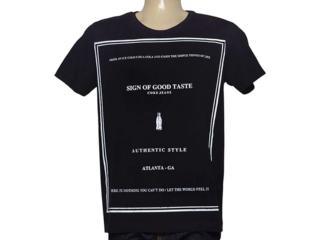 Camiseta Masculina Coca-cola Clothing 353204817 Preto - Tamanho Médio