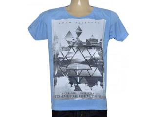 Camiseta Masculina Coca-cola Clothing 353204779 Azul - Tamanho Médio