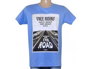 Camiseta Masculina Coca-cola Clothing 353204744 Azul Claro - Tamanho Médio