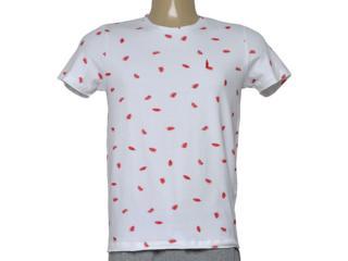 Camiseta Masculina Coca-cola Clothing 353205632 Var14 Branco/vermelho - Tamanho Médio