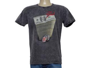 Camiseta Masculina Coca-cola Clothing 355800171 Cinza - Tamanho Médio