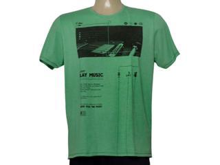 Camiseta Masculina Coca-cola Clothing 355200245 Verde - Tamanho Médio