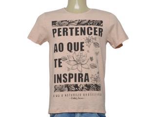 Camiseta Masculina Coca-cola Clothing 353206107  Bege/preto - Tamanho Médio