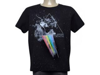 Camiseta Masculina Coca-cola Clothing 345200129 050 Preto Estampado - Tamanho Médio