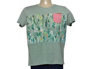 Camiseta Masculina Coca-cola Clothing 353205206 Var15 Verde - Tamanho Médio
