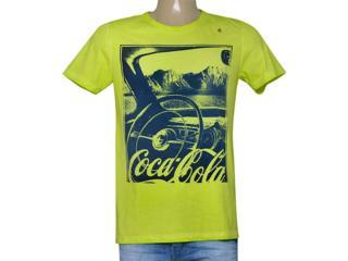 Camiseta Masculina Coca-cola Clothing 353205213 Verde - Tamanho Médio