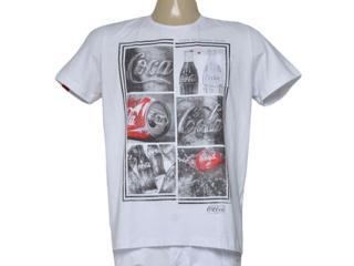 Camiseta Masculina Coca-cola Clothing 353205271 Branco - Tamanho Médio