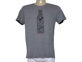 Camiseta Masculina Coca-cola Clothing 353205308 Mescla - Tamanho Médio