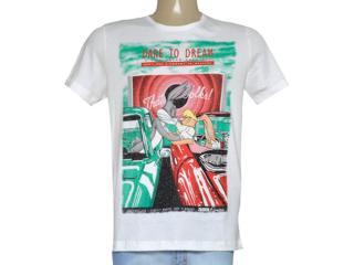 Camiseta Masculina Coca-cola Clothing 355600184 Off White - Tamanho Médio