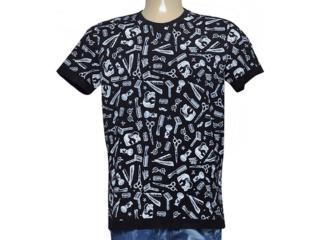 Camiseta Masculina Coca-cola Clothing 355800047 Var2 Preto - Tamanho Médio