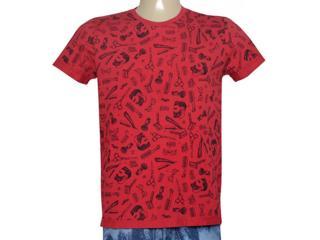 Camiseta Masculina Coca-cola Clothing 355800047 Var1 Vermelho - Tamanho Médio