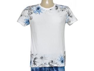 Camiseta Masculina Coca-cola Clothing 353205192 Off White - Tamanho Médio