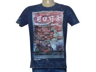 Camiseta Masculina Coca-cola Clothing 353205461 Marinho - Tamanho Médio