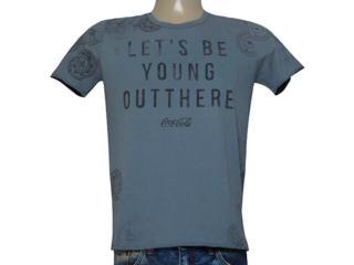 Camiseta Masculina Coca-cola Clothing 353205212 Grafite - Tamanho Médio