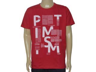 Camiseta Masculina Coca-cola Clothing 0353205508 Cereja - Tamanho Médio