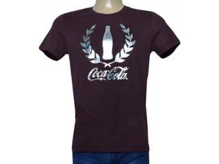 Camiseta Masculina Coca-cola Clothing 353205581 Roxo - Tamanho Médio