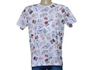 Camiseta Masculina Coca-cola Clothing 353205666 Var1 Branco - Tamanho Médio