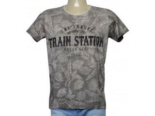 Camiseta Masculina Coca-cola Clothing 353205559 Cinza - Tamanho Médio