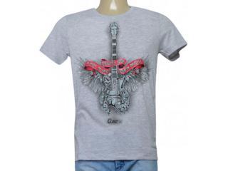 Camiseta Masculina Coca-cola Clothing 355200213 Var11 Mescla - Tamanho Médio
