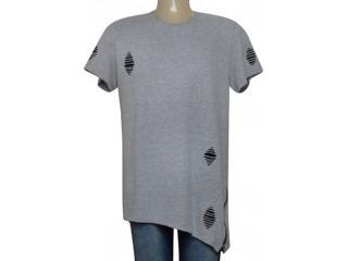 Camiseta Masculina Coca-cola Clothing 355800116 Cinza - Tamanho Médio