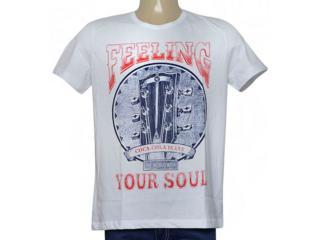 Camiseta Masculina Coca-cola Clothing 355200241 Branco - Tamanho Médio