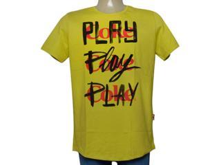 Camiseta Masculina Coca-cola Clothing 353205624 Mostarda - Tamanho Médio