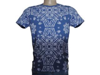 Camiseta Masculina Dopping 015257568 Azul - Tamanho Médio