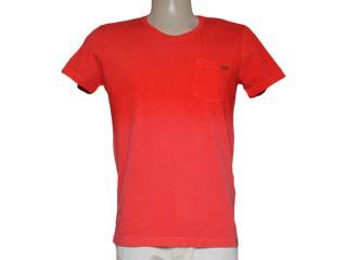 Camiseta Masculina Dopping 015258572 Vermelho - Tamanho Médio