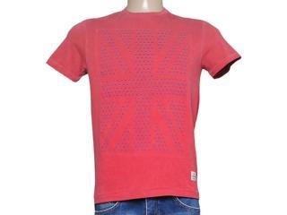 Camiseta Masculina Dopping 015263088 Vermelho - Tamanho Médio