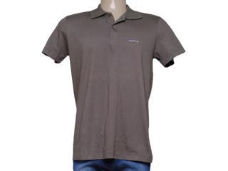 Camiseta Masculina Dopping 015457502 Grafite - Tamanho Médio