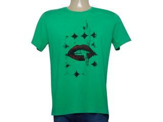 Camiseta Masculina Enzo Milano 0023200312 Verde - Tamanho Médio