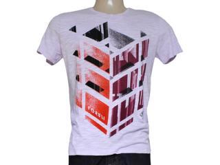 Camiseta Masculina Forum 354601198 Lilas - Tamanho Médio